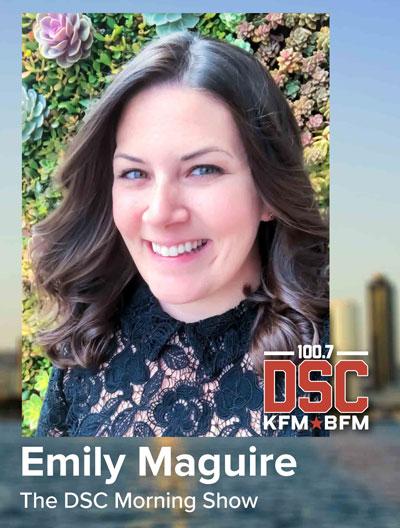 Emily Maguire from the DSC Morning Show